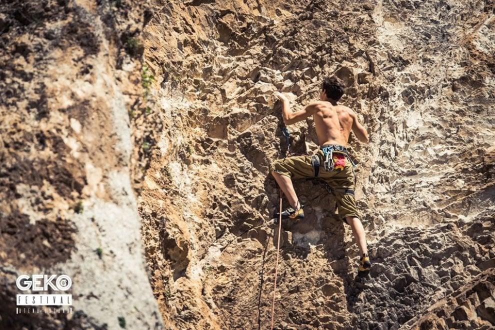 """In Cilento il Festival dell'arrampicata: """"Non c'è un'età per essere climber"""""""