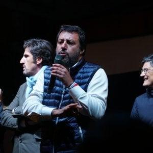 """Salvini: """"A Napoli 12 mila condannati a spasso"""". E sul Sud: """"Chiedono lavoro, no reddito a caso"""""""