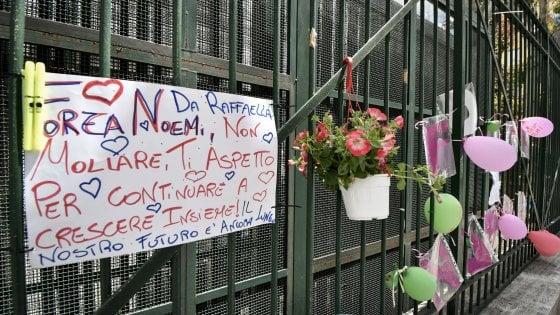 """Sparatoria a Napoli, i medici: """"Noemi è ancora grave"""""""