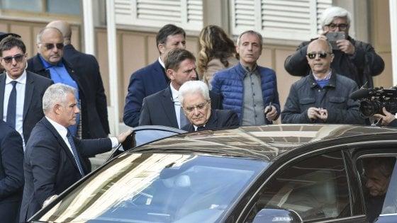 Bimba ferita in piazza Nazionale, Mattarella va a trovare Noemi in ospedale