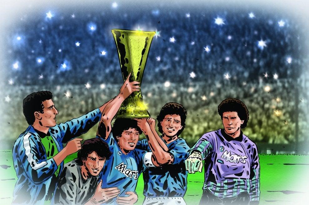 Napoli, un trionfo indimenticabile: il trentennale della Coppa Uefa