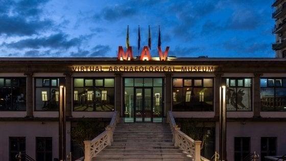 Ercolano, la notte dei musei al Mav
