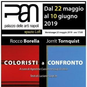 Napoli, l'arte di Borella e Tornquist al Pan