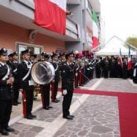 Ariano irpino, inaugurazione della nuova caserma dei carabinieri