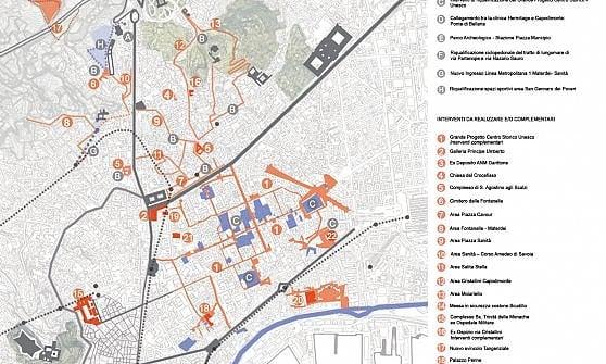 Napoli, dal governo oltre 90 milioni per il centro storico
