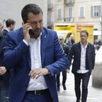 Potenza, Salvini cita il santo protettore e i social si scatenano