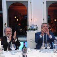 Napoli, De Laurentiis vede Sarri alla Juve: