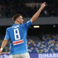 Napoli, che poker all'Inter, grande gara di Fabian Ruiz
