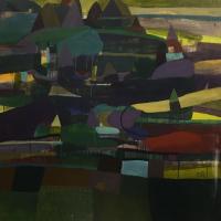 """""""Dream Scape From River"""", la mostra del pittore Elemam alla Shazar Gallery"""