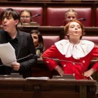 """""""Il processo a Pinocchio"""" rappresentato nell'aula di Montecitorio"""