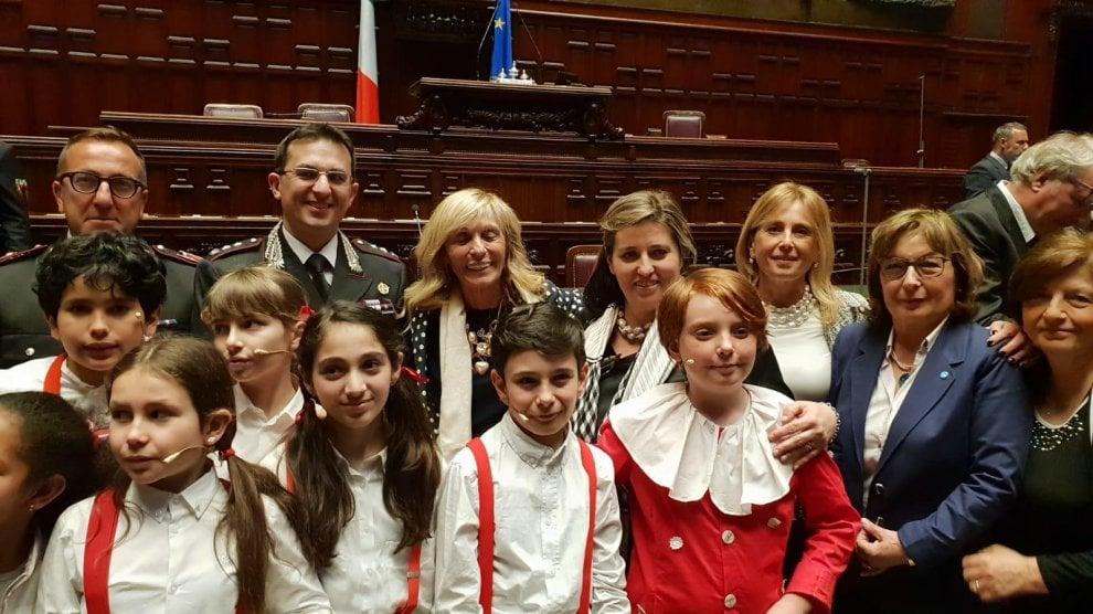 """Montecitorio, studenti del Casertano mettono in scena """"Il processo a Pinocchio"""""""