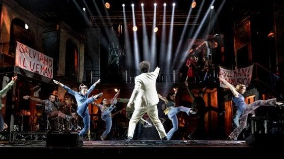 """Cambio data per i """"Musicanti"""", il musical con le canzoni di Pino Daniele all'Arena Flegrea"""