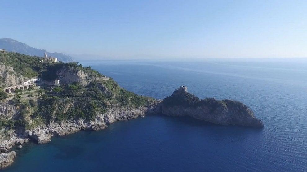 A volo d'angelo sulla Costiera Amalfitana, ecco la zip line da Furore a Conca dei Marini