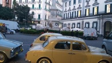 Ciak, si gira l'Amica Geniale 2    in piazza dei Martiri    / Foto