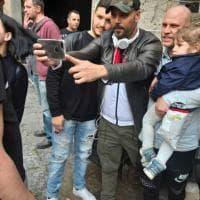Cinema, Marco D'Amore sul set del nuovo film a San Giorgio a Cremano