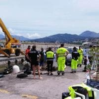 Sub volontari ripuliscono il porto di Palinuro