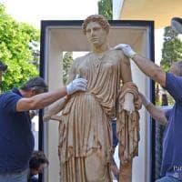 Da Ercolano a Los Angeles, la statua di Demetra al Getty Museum, per una