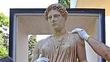 La statua di Demetra  al Getty Museum