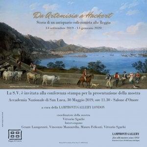 """Presentata la mostra """"Da Artemisia a Hackert. Storia di un antiquario collezionista alla Reggia"""""""