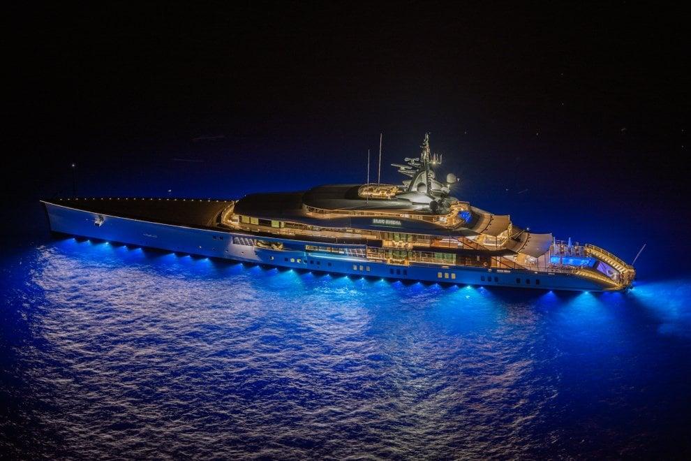 """Lusso a Capri: ecco il """"Bravo Eugenia"""", super yacht da 250 milioni"""