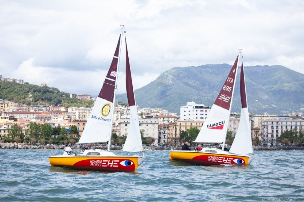 Vela, mondiale non vedenti: vince la flotta napoletana