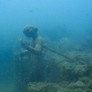 Napoli, Carlo di Borbone alla prima immersione dei ragazzi ipovedenti