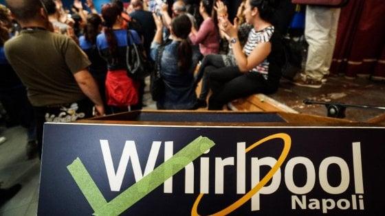 """Whirlpool: """"Non chiudiamo il sito di Napoli, si cerca una soluzione"""""""