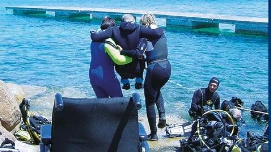 Ischia, il mare non ha barriere:  immersioni e snorkeling a misura di disabili