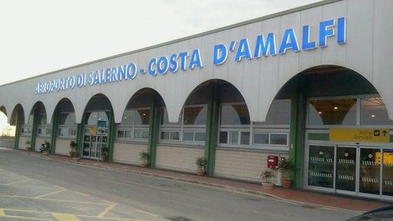 Tria firma concessione per l' aeroporto di  Pontecagnano