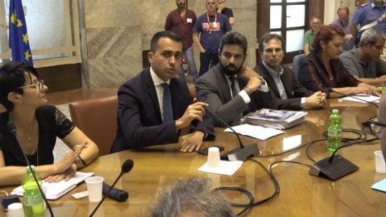 """Whirlpool Napoli, Di Maio: """"Non sapevo che volessero cedere il sito"""""""