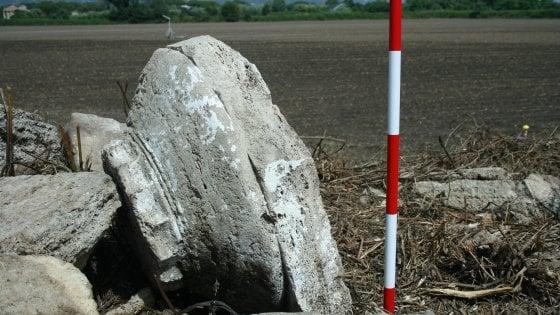 Paestum, trovato un monumento dorico