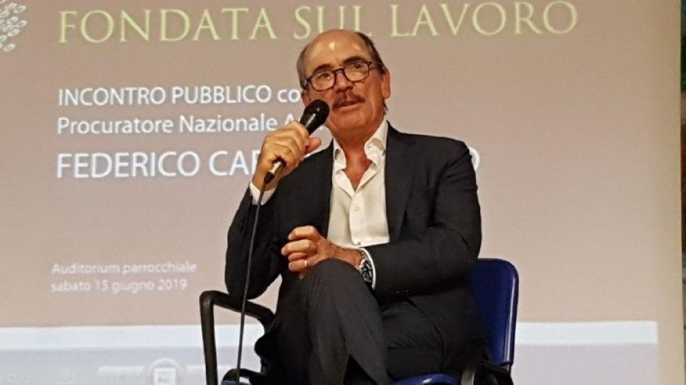 Casagiove, Cafiero De Raho inaugura il campo estivo dei giovani di don Stefano Giaquinto