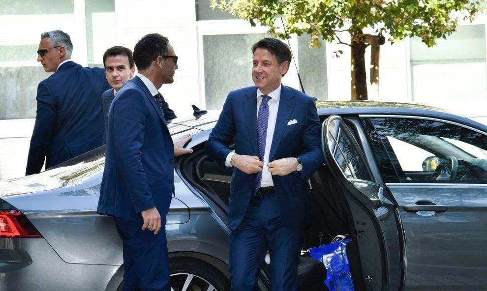 La giornata napoletana del premier Conte