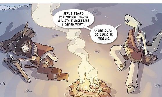 Gherd, in un fantasy giovanile, la voce delle nuove generazioni