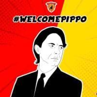 Il Benevento riparte da Inzaghi