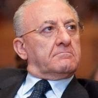 "Universiadi, De Luca: ""In 10 mesi, lavori in 70 impianti"""
