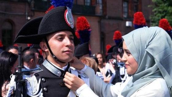 Da Santa Maria Capua Vetere a Torino: Badar, giovane di origini marocchine, diventa carabiniere
