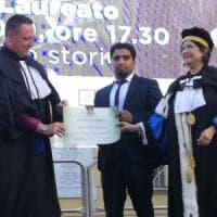 Potenza, all'ateneo lucano il primo laureato rifugiato