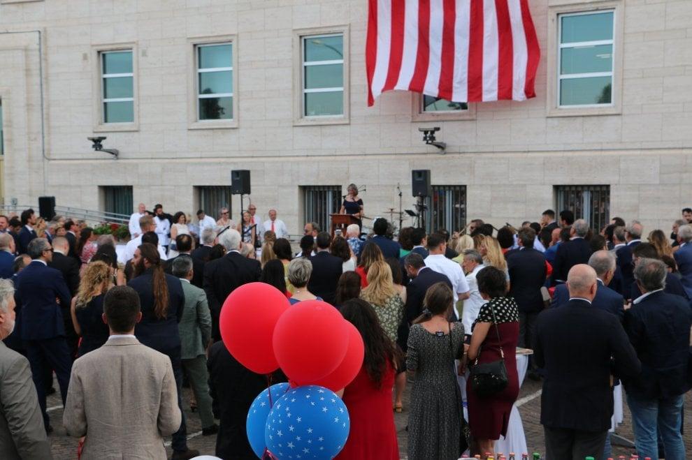 Napoli, festa al Consolato Usa per l'anniversario dell'Indipendenza americana