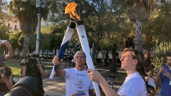 Universiade, l'arrivo della torcia a Salerno