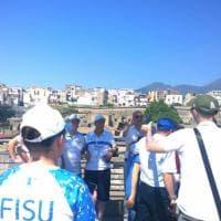 Universiade atleti e responsabili Fisu visitano gli scavi di Ercolano