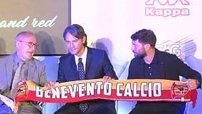 """Inzaghi infiamma la piazza di Benevento: """"Voglio la serie A"""""""