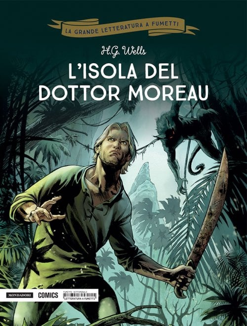 """""""L'isola del dottor Moreau"""" a fumetti secondo Dobbs e Fabrizio Fiorentino"""