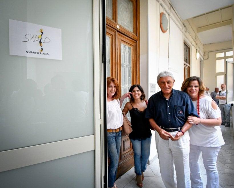 Napoli, Bassolino inaugura la nuova sede di Fondazione Sudd