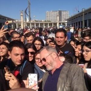 """Cinema, Liam Cunnigham a Benevento: """"Vorrei lavorare con la Bellucci, innamorato di lei da 30 anni"""""""