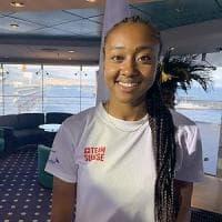 Universiade, Sarah Atcho, volto felice dell'integrazione: «Napoli è