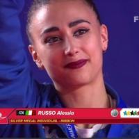 Universiade Napoli, ritmica: Alessia Russo argento nel nastro