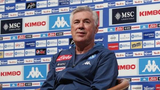 """Napoli, parla Ancelotti: """"Non pretendevo troppo in questo momento"""""""