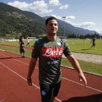 Gli allenamenti del Napoli a Dimaro