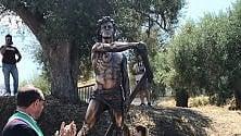 Inaugurata statua  in onore di Palinuro